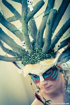Crown of the Forest God by Kudrel-Cosplay.deviantart.com on @deviantART