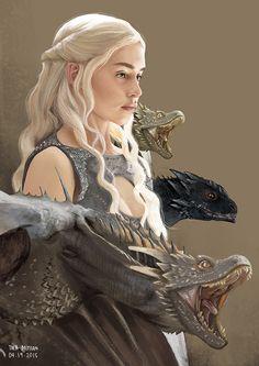 Daenerys by Thea Bathan