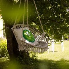 Garden swing - a good book, a cool drink and an hour in the afternoon to enjoy them in this swing - heaven!