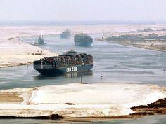 5. Le canal de Suez, en Égypte