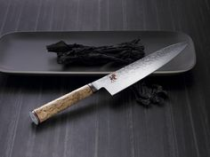 Are you looking for one of the best chef knives in the world? The Miyabi Birchwood chef knife is one of the best. Best Chefs Knife, Japanese Blades, Knife Photography, Product Photography, Fish And Meat, Utility Knife, Knives And Swords, Lame, Chef Knife
