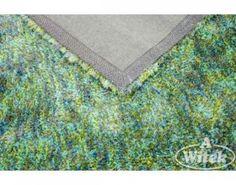 Zielony, włochaty dywan- do kupienia na http://kochamydywany.pl/
