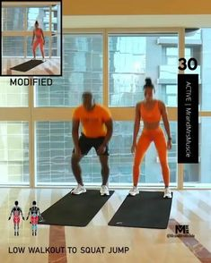 Fitness Workouts, Full Body Hiit Workout, Hiit Workout At Home, Gym Workout Videos, Gym Workout For Beginners, Fitness Workout For Women, Sport Fitness, Shape Fitness, Weight Workouts