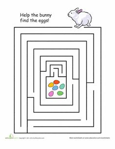 Spring into the Easter spirit with this collection of printables. From coloring pages to puzzles and printable games, kids will love this egg-cellent selection of spring worksheets.