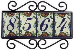 Wishing I had a Spanish style home... | # House Numbers # | Pinterest