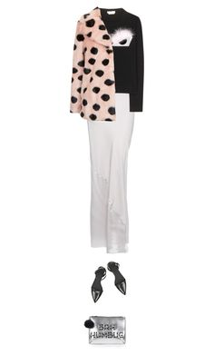 """"""";)"""" by sharplilteeth ❤ liked on Polyvore featuring T By Alexander Wang, Alexander Wang, Fendi and Topshop"""