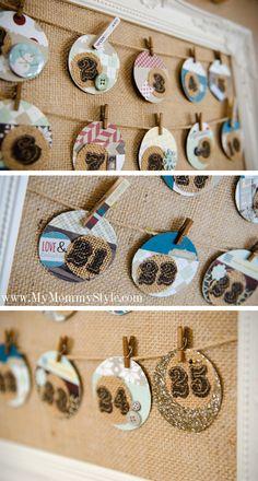 christmas-craft-print-on-burlap-display-countdown-calendar-tags