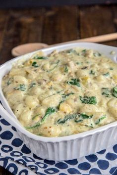 Spinach Artichoke Gnocchi - the classic dip turned into dinner!