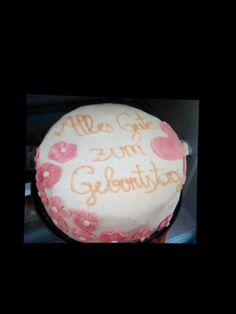 Birthday cake for my Mom My Mom, Christmas Bulbs, Birthday Cake, Homemade, Holiday Decor, Home Decor, Decoration Home, Christmas Light Bulbs, Home Made