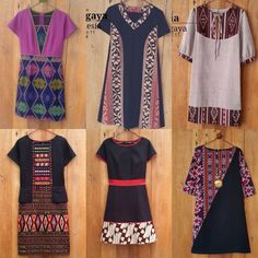 Blouse Batik, Batik Dress, African Attire, African Dress, Simple Dresses, Pretty Dresses, Dress Batik Kombinasi, Mode Batik, Batik Kebaya