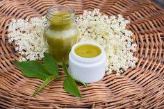 maść z bzu czarnego Natural Cosmetics, Preserves, Flora, Food And Drink, Spices, Soap, Herbs, Homemade, Health