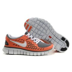 new concept 12695 192bc Orange running shoes My kicks will match bens ride Orange Grau, Nike Free  Flyknit,
