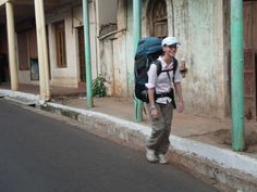 Review of REI Venus 75L Backpack and PacSafe Backpack Protector  http://georgeandheidi.net/travel-gear/rei-venus-75-backpack-review/