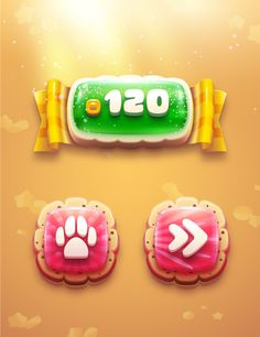 Game Gui, Game Icon, Jelly Games, Freak Games, Ui Buttons, Game Buttons, Coin Icon, Mmorpg Games, Button Game