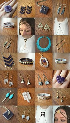 Preview of items that will be in my jewelry sale on http://fab.com/sale/7814/enb1bt/?fref=sale-invite-tw tomorrow, July 6th!