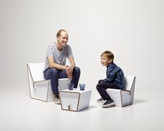 Cardboard Furniture / Showroom Finland   AA13 – blog – Inspiration – Design – Architecture – Photographie – Art
