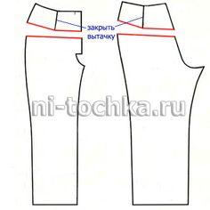 Основа брюк