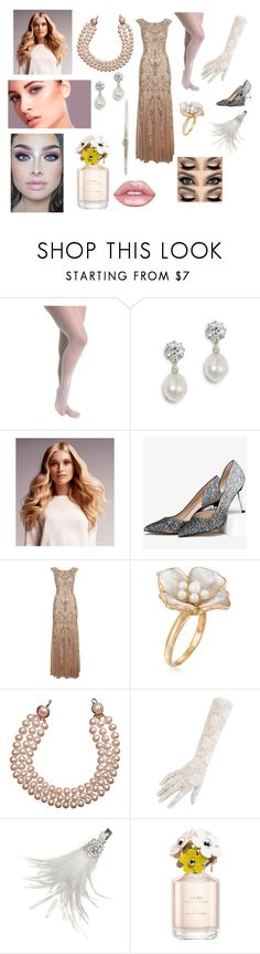 """""""Fantastic beast and where to find them Blond pig scene"""" by andrejafrukacz on Polyvore featuring Ashley Stewart, BaByliss, Adrianna Papell, Ross-Simons, Chanel, Black, Giovannio, Marc Jacobs and Lime Crime"""