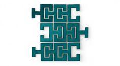 Chaine Femme Prussian Blue Tile | Eco-Friendly Handmade Tile | Fireclay Tile