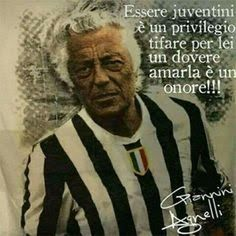 Amarla è un onore!!! Splendida giornata amici bianconeri ⚽ - Lucia Zubani - Google+ Gianni Agnelli, Lady Logo, Ideal Man, Juventus Fc, Dream Team, Soccer, Sports, Sign, Dna