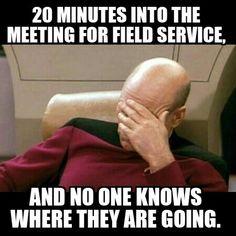 JW witness humor Field Service funny