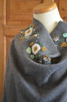 embroidery with yarn--                                                       …