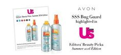 Get Us Weekly Beauty Editors' beauty pick for the Summer: Avon Bug Guard! #AvonRep http://production.socialmediacenter.avonsocialtools.com/share?m=165&p=d5ac44f35893a8d151b0ee9094f19a56&s=rep&srct=share&srci=7029