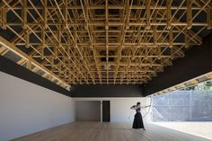 archery hall and boxing club in Tokyo by FT Architects