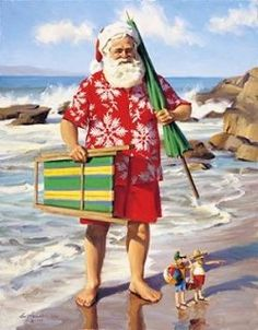 Christmas In Hawaii Party.Pinterest