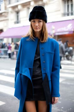 BLUE. COAT. AMAZEBALLS.