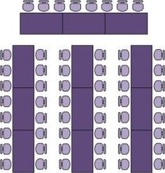 This page shows how to position tables, how many people to seat at ...