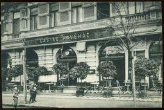 1910-es évek. Margit körút 40. Old Pictures, Old Photos, Budapest Hungary, Historical Photos, The Past, Street View, History, Travel, Vintage