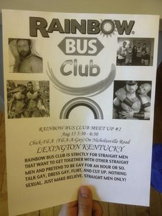 The members of the Rainbow Bus Club: | 26 Things You'll See On Public Transportation