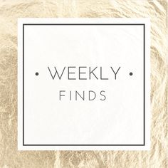 The Design Shoppe | Weekly Finds: DIY