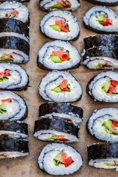 Sushi Rolls, Tempura, New Recipes, Food And Drink, Snacks, Cooking, Ethnic Recipes, Impreza, Japanese Desserts