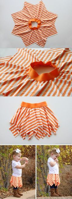 DIY � Square circle skirt