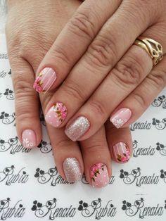 Renata Rubia, nail designer. Nail Designer, Nail Art, Nails, Beauty, Nail Bling, Pretty Nails, Vestidos, Gel Acrylic Nails, Nail Manicure