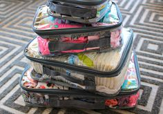 Top tips for how to pack for travel and vacation with a toddler, without all the stress! Including a FREE printable packing checklist for toddler and mom! Toddler Plane Travel, Travel With Kids, Vacation Packing, Travel Packing, Travel Hacks, Travel Ideas, South Carolina Vacation, Packing Checklist, Packing Tips