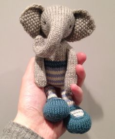 After the total joy of making two rabbits (one hopefully now settled into his new home) I decided to take a risk on an elephant. I say 'take a risk' as she looks pretty complicated to m…