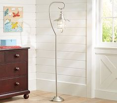Fisherman Floor Lamp #pbkids {For a Nautical Themed Sitting Room/Play Space, this would be perfect!!!}
