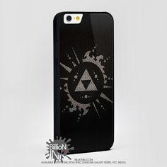 Black Zelda For Apple, Iphone, Ipod, Samsung Galaxy Case