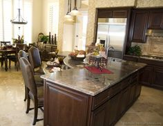 Supreme Kitchen Remodeling Choosing Your New Kitchen Countertops Ideas. Mind Blowing Kitchen Remodeling Choosing Your New Kitchen Countertops Ideas. Espresso Kitchen Cabinets, Refacing Kitchen Cabinets, Kitchen Cabinet Design, Interior Design Kitchen, Kitchen Designs, White Cabinets, Wood Cabinets, Cheap Countertops, Kitchen Countertops
