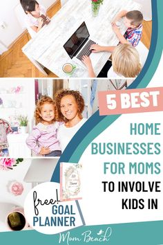 There are several home businesses for moms to involve their kids into. We explore 5 different business ideas for moms in this article. Best Home Business, Home Based Business, Business Ideas, Legitimate Work From Home, Work From Home Jobs, Pampered Chef, Earn Money From Home, Way To Make Money, Money Saving Mom