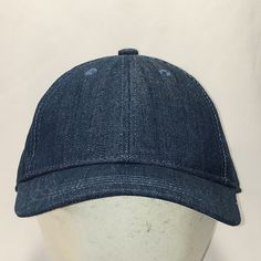 ba4c3ee9 Plain Blank Hat Blue Denim Baseball Cap Snapbacks Mens Caps Fishing Outdoor  Sports Gear Vtg 90s Gifts For Dad Hats T101 MA9034