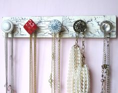 jewelry organizer diy with any buttons ^0^