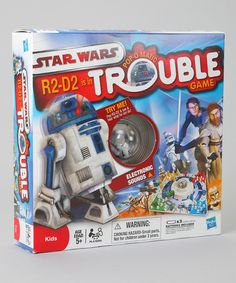Take a look at this Star Wars Trouble Game by Star Wars on #zulily today!
