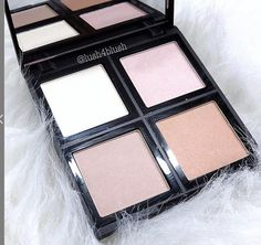 NEW: ambient palette! Holds 4 gorgeous complimentary shades to mix and match for a custom blended radiance. (just $6!) #elfcosmetics #playbeautifully