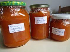 Süti és más...: Narancsos sütőtök lekvár