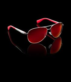 prada red white sunglasses