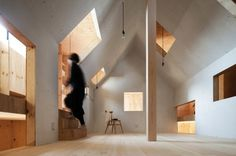 Ant House hides an innovative wood interior behind a metal-clad cube in Japan | Inhabitat - Sustainable Design Innovation, Eco Architecture, Green Building